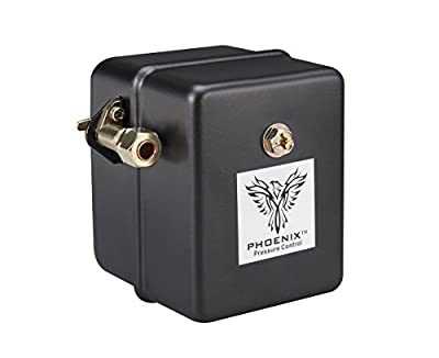 Phoenix™ Heavy Duty 1-Port Air Compressor Switch with Unloader Valve (Furnas type)