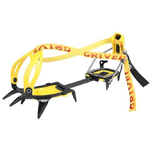 Grivel G10 crampon New-Matic yellow/black