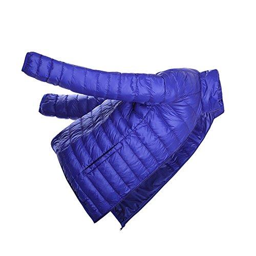 Men's XICHENGHSHIDAI Light Jacket Short Down Blue1 Weight qPR0PFx6