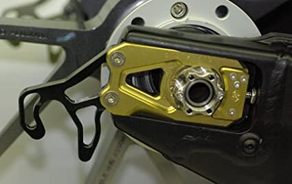 2008 Gold Gilles Kettenspanner Yamaha YZF-R6 Bj
