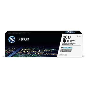 HP 201 - Cartucho de tóner Original HP 201A Negro para HP Color LaserJet Pro MFP, M277, M252