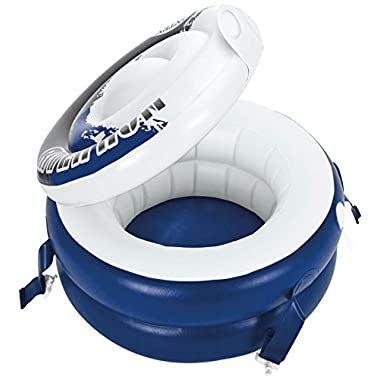 Intex River Run Connect Cooler, Inflatable Floating Cooler, 22.5  Diameter