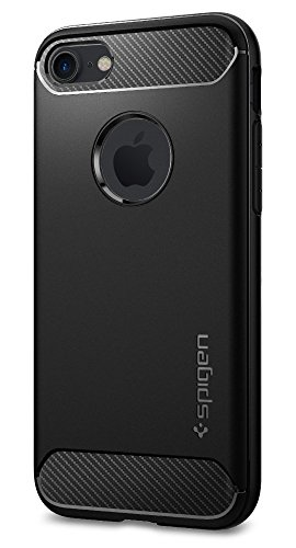 Spigen Rugged Armor iPhone 7 Case with Resilient Shock Absorption and Carbon...