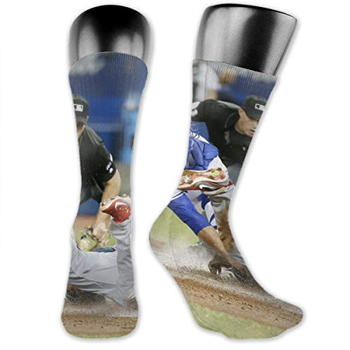 - Lovesofun Crew Socks Toron-to Blue Jay-s Man Woman Athletic Compression Socks for Running, Training, Fitness and Outdoors 40cm