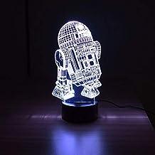 Luminária 3D - RD-2D Star Wars