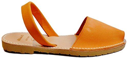 suela menorquinas sandalias abarcas Avarcas beige con nobuck varios colores BEIGE Naranja SUELA albarcas PpARpgq