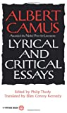 Lyrical and Critical Essays, Albert Camus, 0394708520
