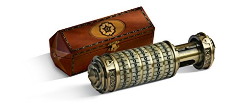 The Noble Collection The Da Vinci Code Cryptex 1:1 Scale Prop Replica
