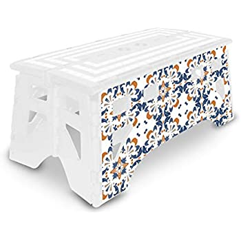 Amazon Com Expace Folding Step Stool 20 Inch Extra Wide