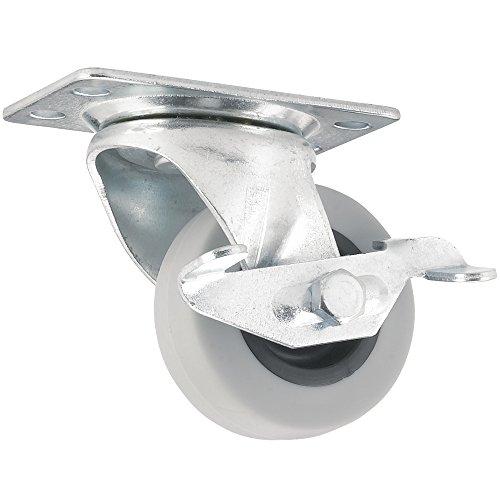 Rubber Caster Wheel Swiveling Plate