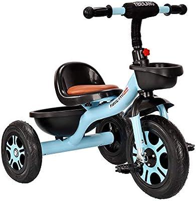 Hejok Equilibrio De La Bicicleta Roja, Bebé Bicicleta Niño Niño Pequeño Deslizante Juguete Coche Infantil Bicicleta Niños Triciclo Bicicleta, Blue: Amazon.es: Deportes y aire libre