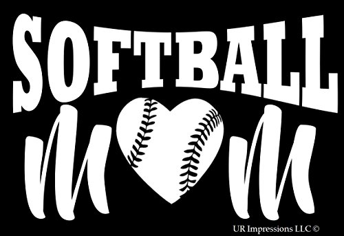softball catcher window decals - 6