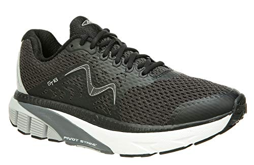 MBT Shoes Women's GT 18 Running Shoe: Black/Mesh 8.5 Medium (B) Lace