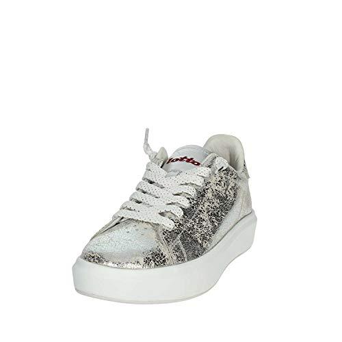 Zapatos Lotto T7438 Silver Mujeres Leggenda AfEwqT