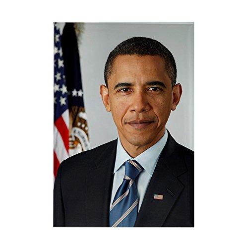 CafePress - obamaportrait Magnets - Rectangle Magnet, 2