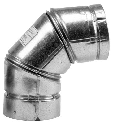 Selkirk 244231 Pellet Stove Elbow, 90 Degree, Type L, 4-In. - Quantity -