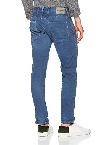 Jeans Blu 220 stone Slim Replay Anbass Blue Uomo Fq5wxa4I