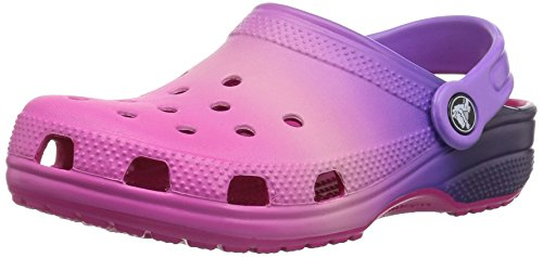 Price comparison product image crocs Unisex Classic Ombre Clog K, pink ombre, 3 M US Little Kid