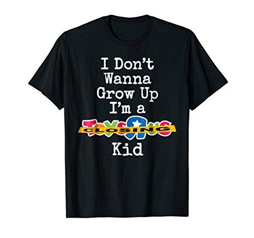 I Don't Wanna Grow Up Kid | Sad Closing | Collector T-Shirt