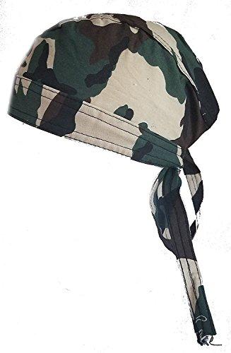 Camouflage Skull Cap