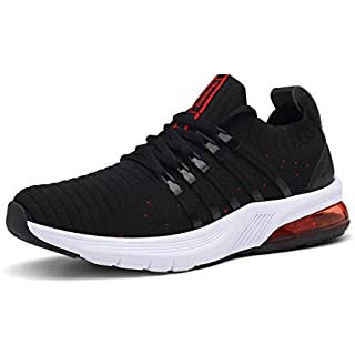 wanhee Women's Athletic Running Shoes Air Cushion Mesh Breathable Sneakers Lightweight Sport Tennis Walking Jogging Shoes Road Running Shoes On Trail
