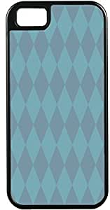 Blueberry Design Apple iPhone 5 Case iPhone 5S Case Diamond Pattern Design Blue and Sky Blue - Ideal Gift
