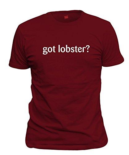 shirtloco Men's Got Lobster T-Shirt, Cardinal Red Medium