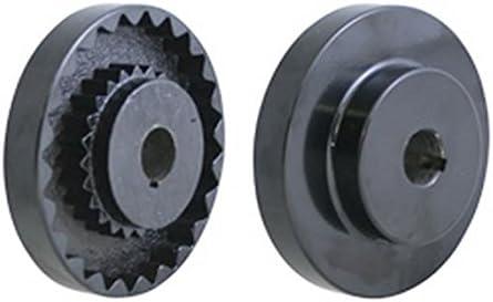 Lovejoy 68514459721 Cast Iron 10S Flange 7.5 mm OD 324.83 Newton Millimeters Item Torque 35 mm Bore 10 mm x 3.3 mm Keyway