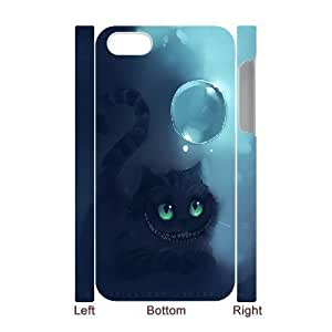3D [Cheshire Cat Series] IPhone 4/4s Case Cheshire Cat Bubble - White