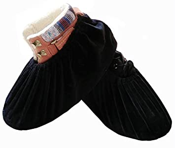 89edc78ae30 DearyHome Shoe Covers Reusable Washable Non Slip Work Boot Overshoes for  Indoors Contractors