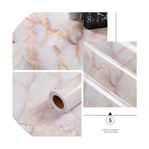 Wallpaper Kitchen Cupboard Vinyl Contact Paper Furniture Table Shelf Drawer Waterproof Wall Stickers,Brother,5m x 60cm -