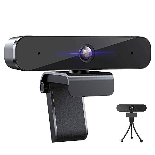 Webcam with Microphone, 1080P HD for Streaming Conference Recording Gaming Online Classes, Desktop Laptop, Windows Mac OS