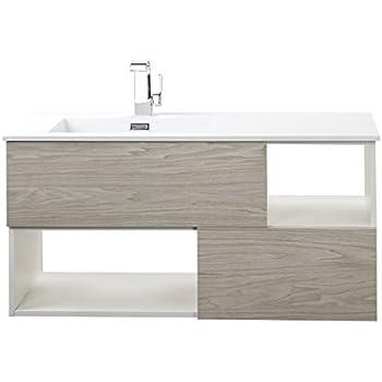 Cutler Kitchen U0026 Bath FVWEEKND42 Sangallo 42 In. Wall Hung Bathroom Vanity,  Weekend Getaway