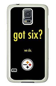 NFL Pittsburgh Steelers Samsung Galaxy S5 i9600 Case by ruishername