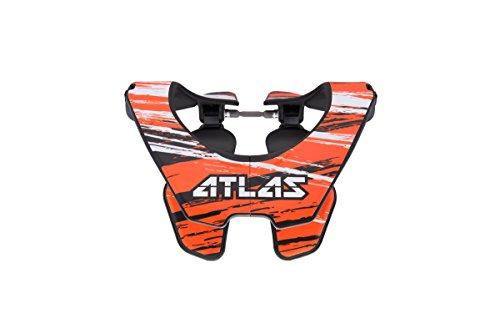 Atlas Brace Technologies Prodigy Brace, 2017 Unisex-Adult (Orange, One Size) (Brush Orange) by Atlas Brace Technologies
