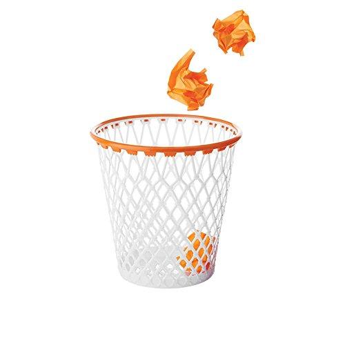 Spalding Basketball Wastepaper Basket - Nothing But Net Basketball