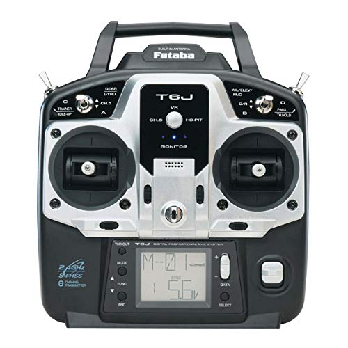 Futaba 6J 6-Channel S-FHSS 2.4GHz Radio Transmitter with R2006GS Receiver