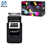 S DESITA 540XL Remanufactured Ink Cartridge Replacement for Canon PG540 Compatible with PIXMA MG4250 MG3250 MG3255 MG3550 MG4100 MG4150 Printer (1Black) 1Pack