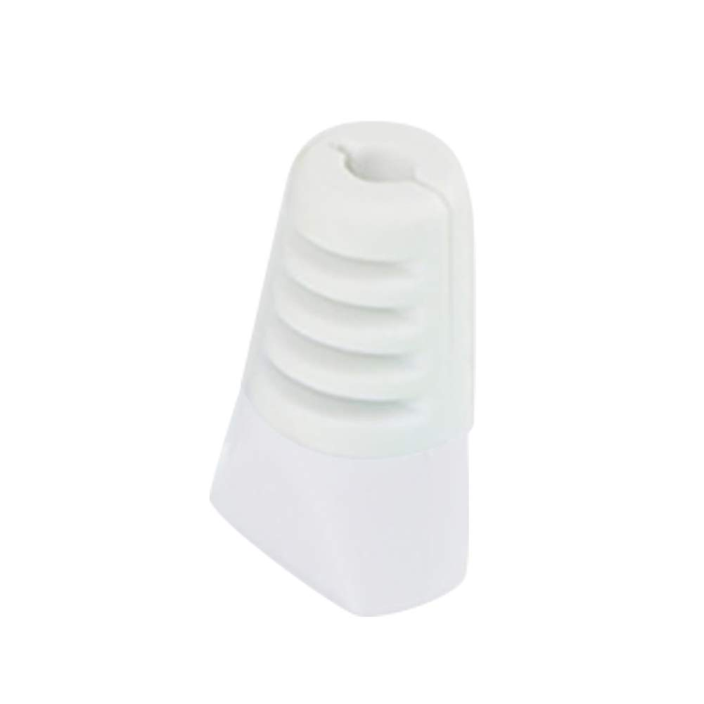 yunbox299 Universal Anti-Broken Silicone Charge Cable Protective Cover Wire Cap Head Case White