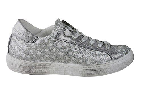 2 Star 2STAR Sneakers Low Argento Girl 2SB1147 Argento