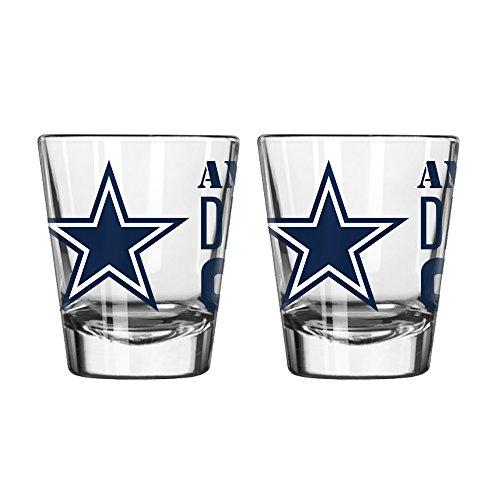 (Boelter Brands NFL Dallas Cowboys Spirit Shot Glass, 2-Ounce,)