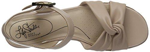 LifeStride Women's Monaco Sandal Soft Taupe ADkFJri