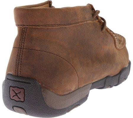 Twisted X Boots Mens Peanut Steel Toe Met Guard Driving Mocs Brown PBqww2yd