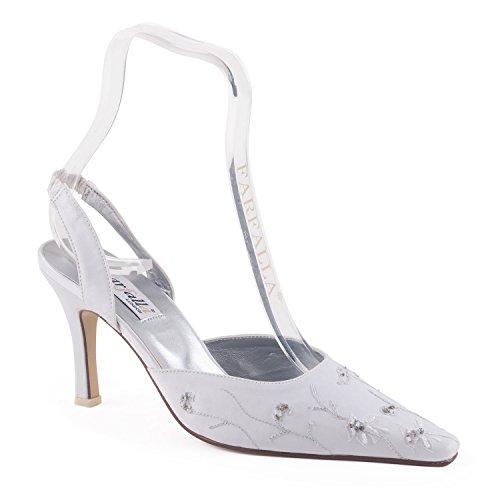 FARFALLA - Sandalias de vestir para mujer blanco