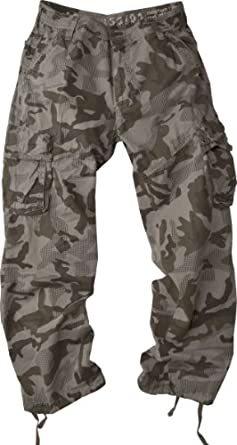 StoneTouch #28C1/#28C3 Men's Military-Style Camo Cargo Pants. at ...