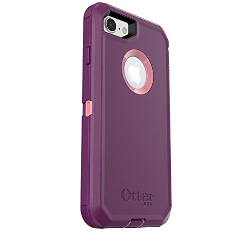 OtterBox DEFENDER SERIES Case for iPhone 8 & iPhone 7 (NOT Plus) - Frustration Free Packaging - VINYASA (ROSMARINE/PLUM HAZE)