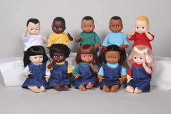 Multi-ethnic School Dolls MTC-110 Ethnic Doll - Black Boy