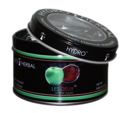 Hydro Herbal 250g Double Apple Hookah Shisha Tobacco Free Molasses