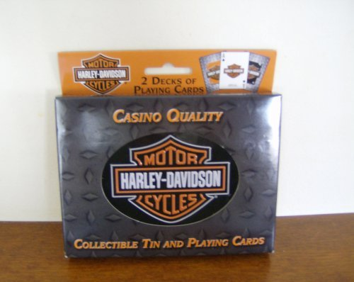- HARLEY-DAVIDSON PLAYING CARDS IN COLLECTIBLE TIN