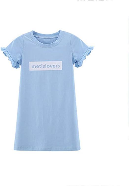 FHYER Vestido de Las niñas Falda de la Camiseta de la Mujer Traje ...